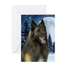 BTWinterKindle Greeting Card