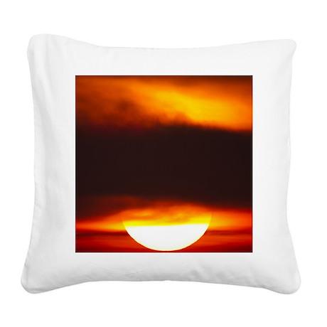 ATL Sunrise 9 x 12 Square Canvas Pillow