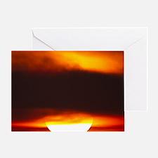 ATL Sunrise 9 x 12 Greeting Card