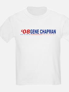 Gene Chapman 2008 Kids T-Shirt