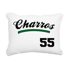 Charros Jersey Rectangular Canvas Pillow