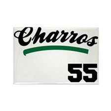Charros Jersey Rectangle Magnet