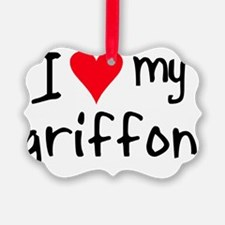 iheartwirehairedpointinggriffon Ornament