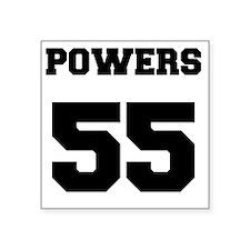 "Powers Square Sticker 3"" x 3"""