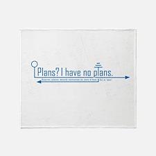 plans Throw Blanket