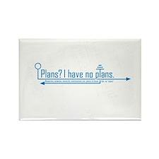 plans Rectangle Magnet