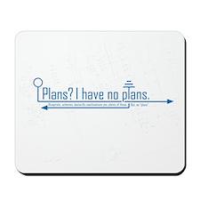 plans Mousepad