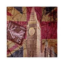 vintage British Flag London UK fashion Queen Duvet