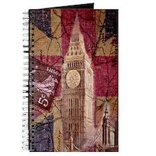vintage British Flag London UK fashion Journal