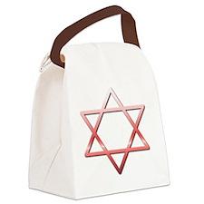 StarOfDavidA09 Canvas Lunch Bag