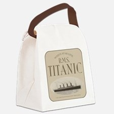TG RMSsepiaroundTRANS13x13-b Canvas Lunch Bag