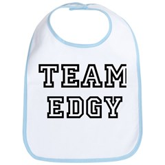 EDGY is my lucky charm Bib
