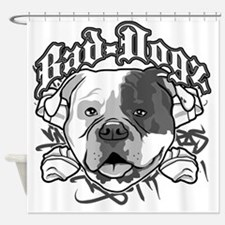 American Bull Dog Shower Curtain