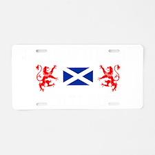 Edinburgh Scotland Aluminum License Plate