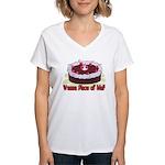 Wanna Piece Of Me? Women's V-Neck T-Shirt