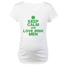 Keep Calm Love Irish Men Shirt