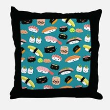 sushiflipflops Throw Pillow