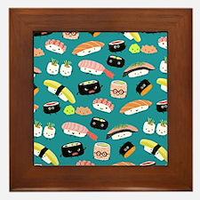 sushiflipflops Framed Tile