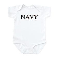 Navy (Flag) Infant Creeper