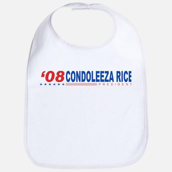Condoleeza Rice 2008 Bib