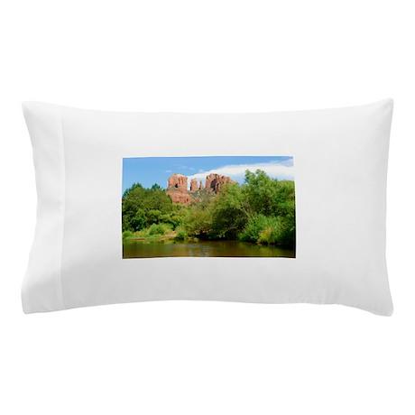 Castle Rock at Sedona Pillow Case