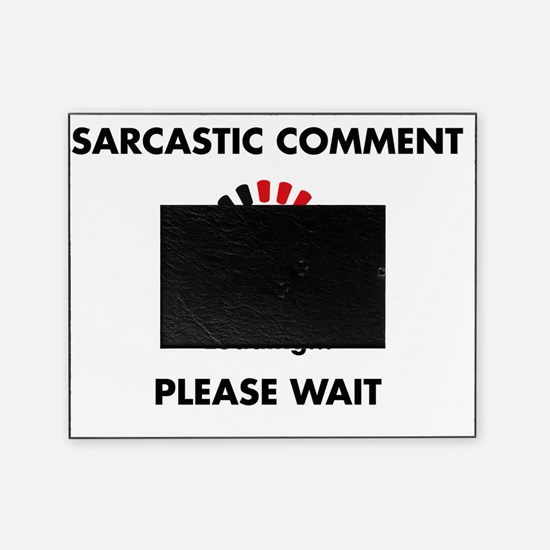 sarcasm Picture Frame