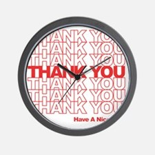thank you wh Wall Clock