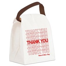 thank you wh Canvas Lunch Bag