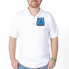 Pillow case Aqua Owl T-Shirt