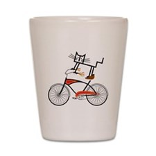 Bicycle Shot Glass