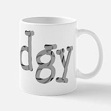 Funny Dodgy Shady Font Designer Mug