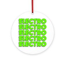 ElectroMad Round Ornament