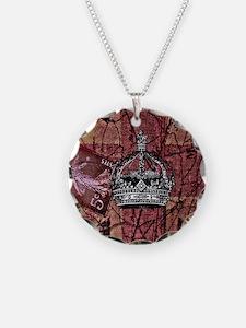 vintage jubilee  British Fla Necklace