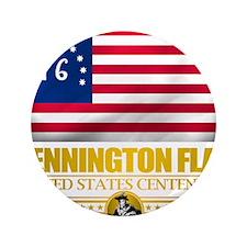 "Bennington (Flag 10)2 3.5"" Button"