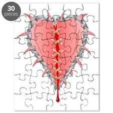 Mended Heart Puzzle