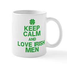 Keep Calm Love Irish Men Mugs