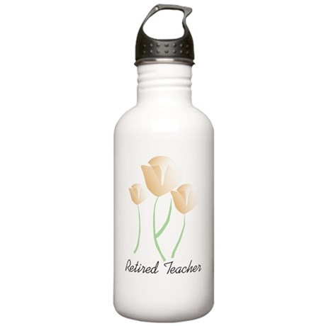 retired teacher tulips Stainless Water Bottle 1.0L