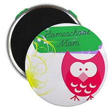 Homeschool Mom Owl Magnet
