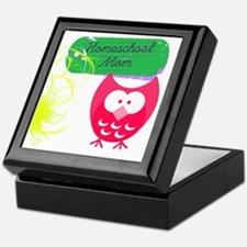 Homeschool Mom Owl Keepsake Box