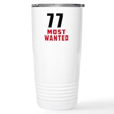 77 most wanted Travel Mug