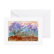 Taos Mountain Memories Greeting Card