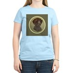 German Shorthair Head Study Women's Light T-Shirt