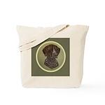 German Shorthair Head Study Tote Bag
