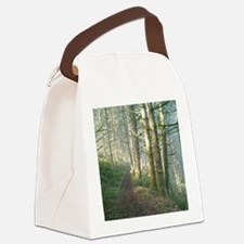 Nature Trail in the Morning Canvas Lunch Bag
