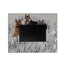 german shepherd pillowcase Picture Frame