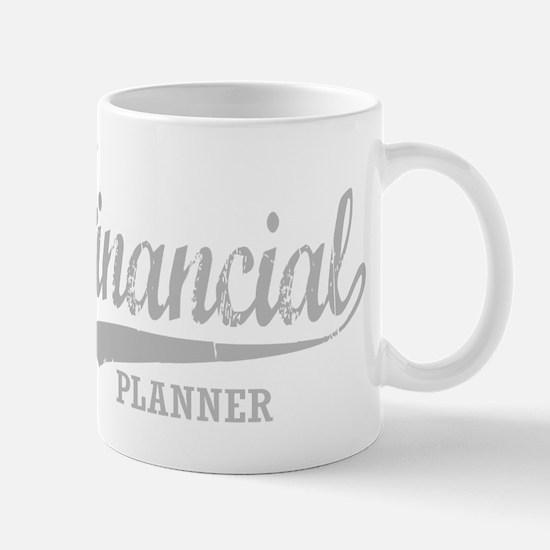 Financial Planner for dark Mug