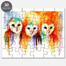 Row of Owls Puzzle