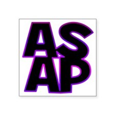 """ASAP Square Sticker 3"""" x 3"""""""