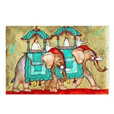 2 Elephants Postcards (Package of 8)