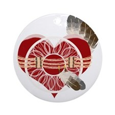 indian_girl Round Ornament